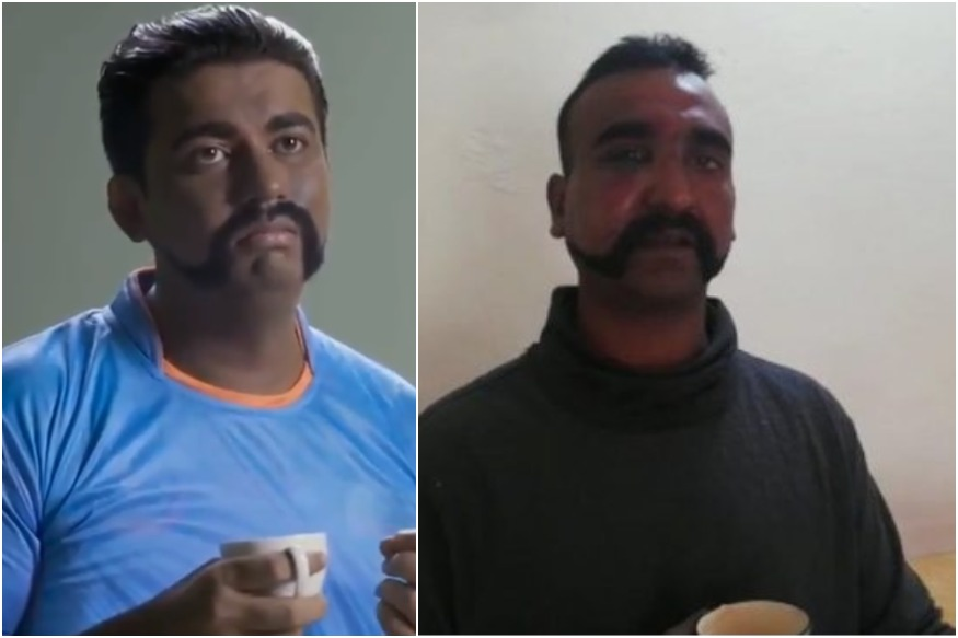 During World Cup Pakistan TV airs spoof on Abhinandan Varthaman