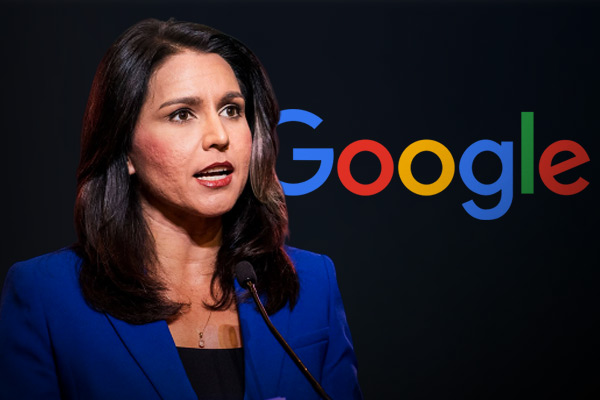 Tulsi Gabbard sues Google for $50 million over temporarily suspending her ad account