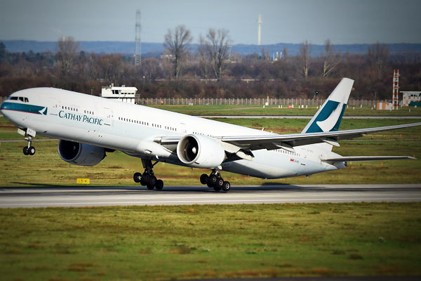Cathay Pacific reveals that it films onboard passengers using onboard CCTV camera