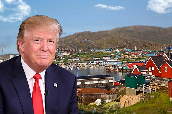 Trump confirmed his interest and attempt to buy Greenland