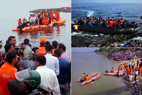 7 dead in Andhra Pradesh as tourist boat capsizes in Godavari river