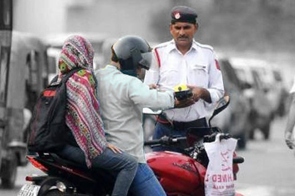 Drastic fall in the traffic violations in Delhi after the new Motor Vehicle Act