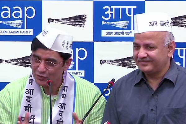 Former Jharkhand Congress chief, Ajoy Kumar, removed from his post, joins Aam Aadmi Party