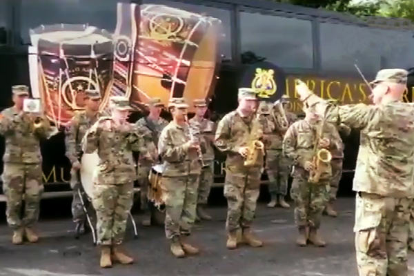 Jana Gana Mana played by US army band during Yudh Abhyas 2019