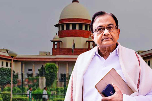 Supreme court extends Chidambaram's judicial custody in INX media case till October 3