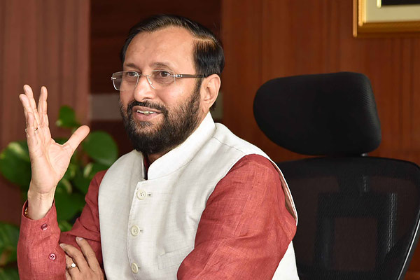Javadekar dismisses talk of economic crisis in India