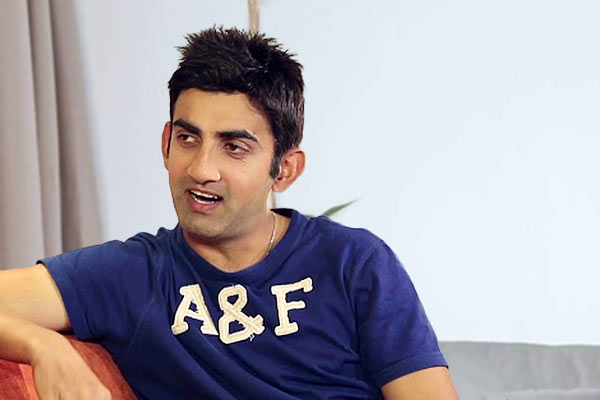 Gautam Gambhir was on the verge of retirement in 2007