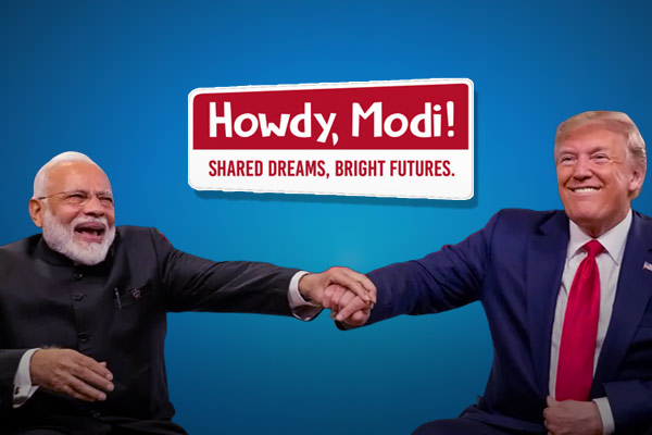 Find who are the friends of India? Who all will be attending the Howdy Modi event?