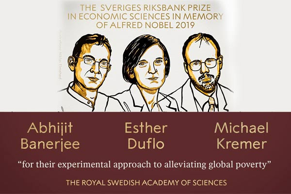 Indian-American Abhijit Banerjee, wife Duflo and Kreme wins Nobel Prize in Economics