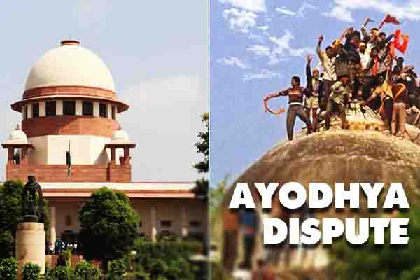 Last day of hearing on Ayodhya dispute