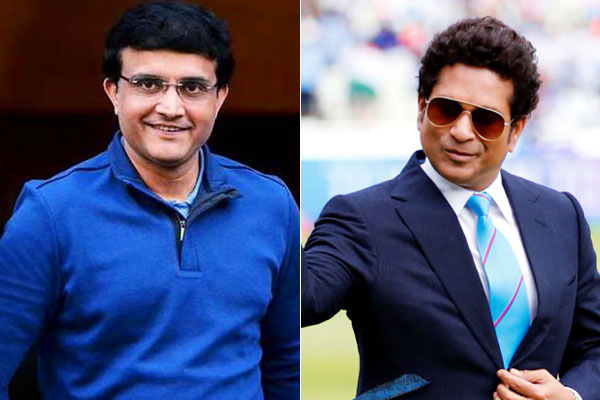Sachin congratulates Sourav Ganguly ahead of appointment as BCCI president
