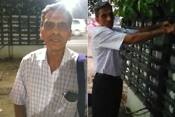Man who was caught stealing plants from Delhi's Vertical Garden apologizes