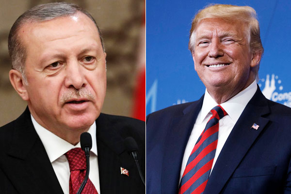 Trump's head-turning letter to Turkish counterpart Erdogan ends in trash