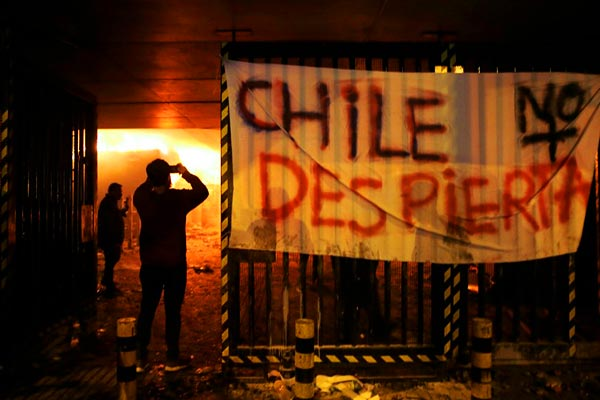 Chile capital Santiago in state of emergency amid unrest