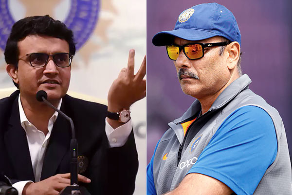 Ravi Shastri's first reaction to Ganguly becoming BCCI president