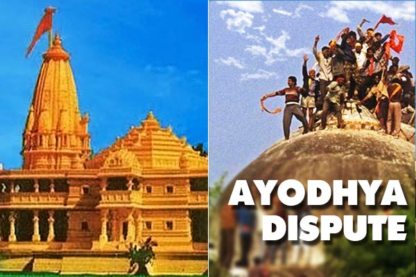 Hindus & Muslims tried to prove in the disputed land of Ayodhya