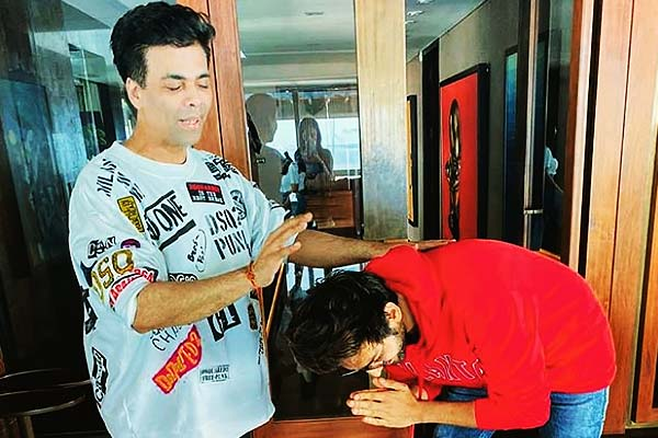 Karthik took blessings of this director before shooting of Dostana-2