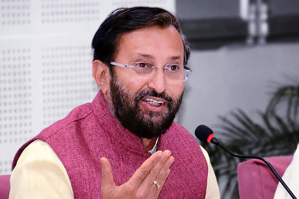 Union Minister Prakash Javadekar received the portfolio of the heavy industries