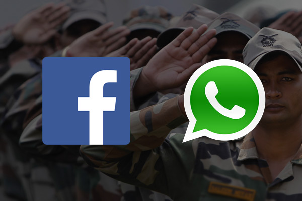 Avoid using Whatsapp for official communication, deactivate FB