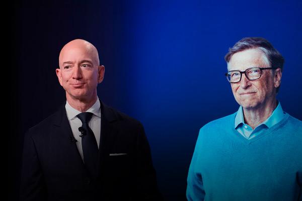 Billionaire philanthropist and Microsoft co-founder Bill Gates has reclaimed his status