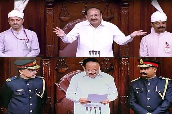 Rajyasabha to re-visit Marshals' new uniform after bad reviews