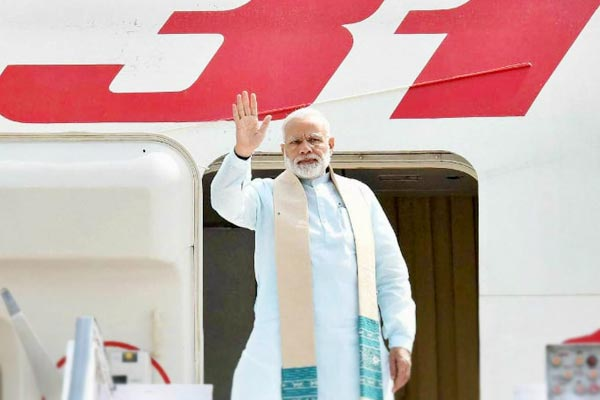 PM Modi undertook 7 foreign trips and visited 9 countries from Aug till Nov