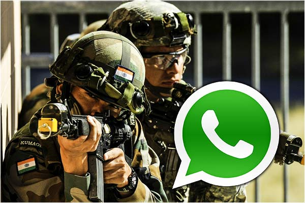 Indian Army issued this advisory for all its soldiers on WhatsApp