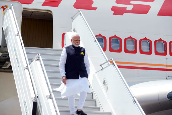 Amit Shah told the Lok Sabha on Wednesday that PM Modi stayed at airports