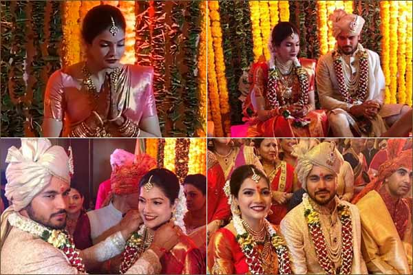 Manish Pandey gets hitched to actress Ashrita Shetty after winning
