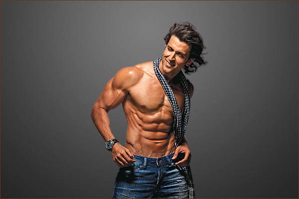 Hrithik Roshan after being voted as sexiest Asian male