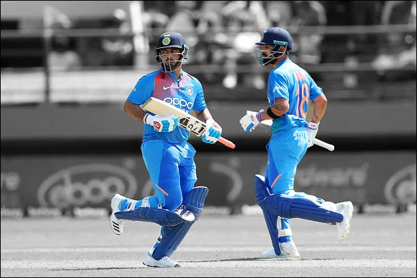 Skipper Virat Kohli came in defense of his young teammate
