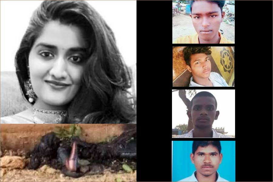 Hyderabad veterinarians rape and murder case killed in encounter