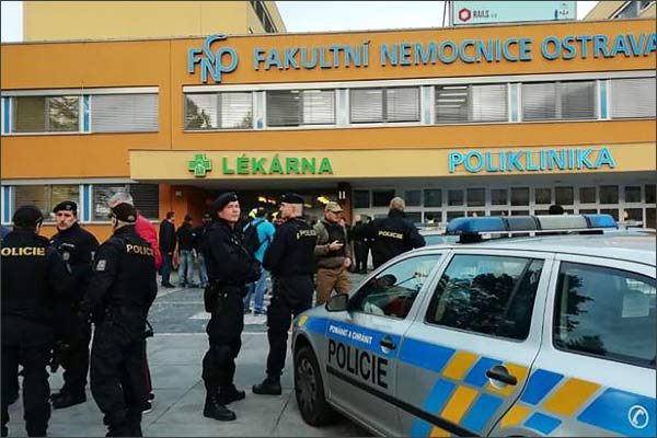 Some attackers opened fire at a hospital in the eastern Czech city Ostrava