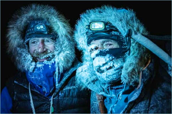 Adventures Mike Horn and Borge Ausland set out on a 60-day expedition
