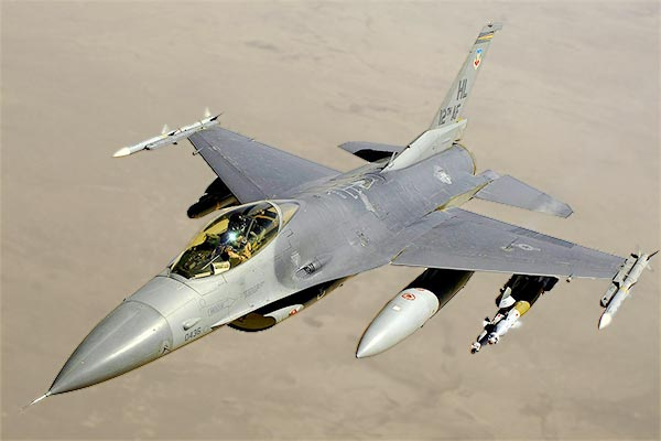 US count of Pakistan F 16 fighter jets found none missing