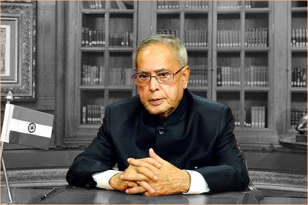 Former President Pranab Mukherjee not worried about falling GDP growth