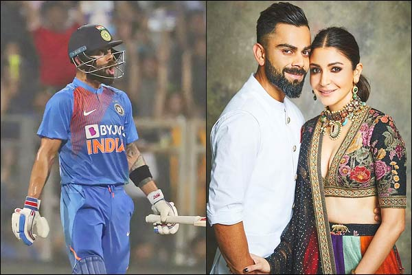 Virat Kohli Dedicates India T20 Win to Anushka Sharma