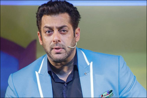 Angry with contestant Salman Khan will leave the show