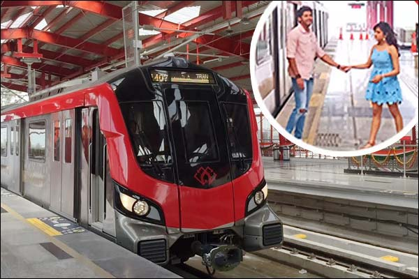 Lucknow Metro becomes film shooting spot after Delhi