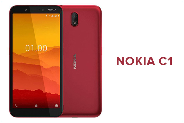 Nokia C1 Android Go Edition smartphone launched