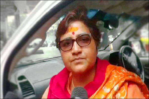 BJP MP Pragya Singh Thakur is back in the news after a scuffle with some passengers on a plane