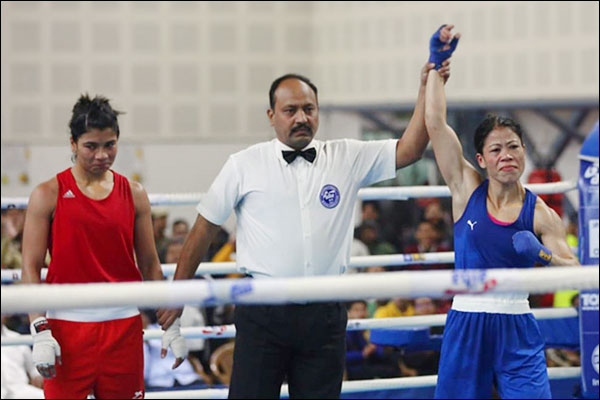 My fight was against the system not Mary Kom  clarifies Nikhat Zareen