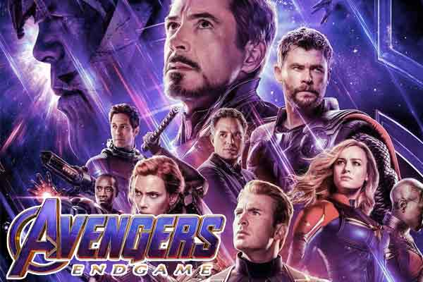 Avengers  Endgame was the highest-selling movie followed by Uri