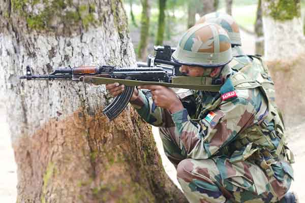 Pakistan opens unprovoked firing in Poonch sector