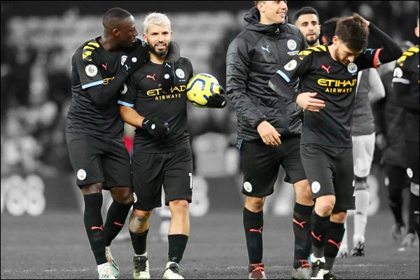Sergio Aguero becomes highest foreign goal scorer in Premier League history