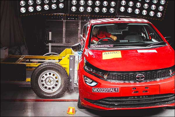 Tata Altroz Gets 5 Star Crash Rating From Global NCAP