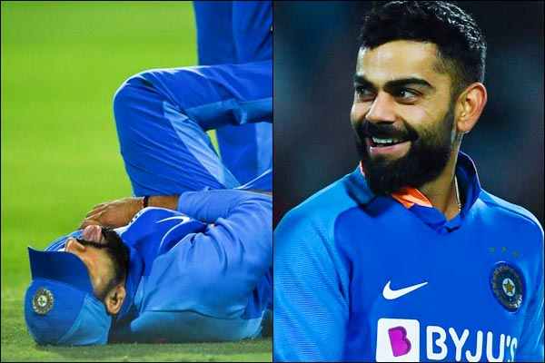 Virat Kohli gives update on Rohit Sharma's injury