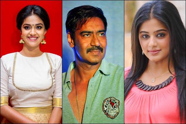 Priyamani replaces Kirti Suresh from Ajay film