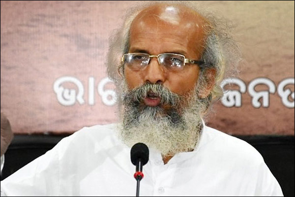Pratap Sarangi said No right to live in India if you can  not chant Vande Mataram