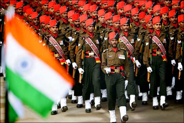 Full dress rehearsal for Republic Day Parade Celebrations